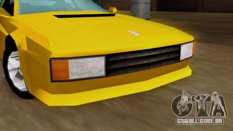 Cheetah from Vice City Stories IVF para GTA San Andreas vista direita