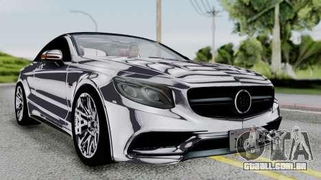 Brabus 850 Chrome para GTA San Andreas