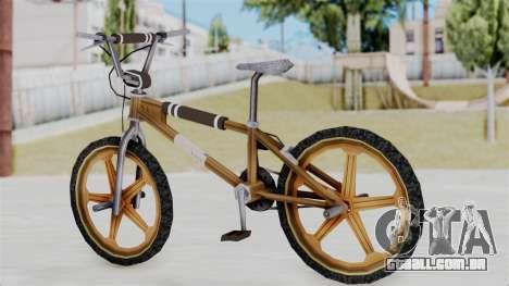 Retro BMX from Bully para GTA San Andreas esquerda vista