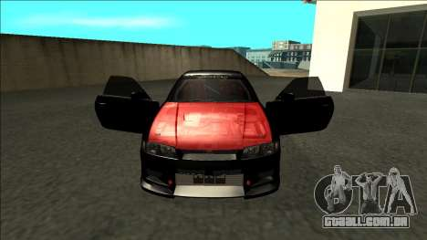 Nissan Skyline R33 Monster Energy para GTA San Andreas vista interior