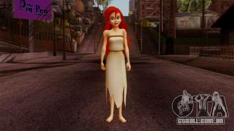 Ariel Mermaid para GTA San Andreas segunda tela