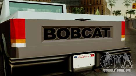 Bobcat from Vice City Stories para GTA San Andreas vista direita