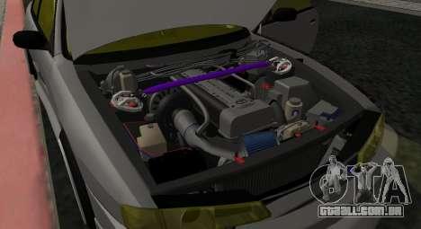 Nissan Silvia S14 JDM v0.1 para GTA San Andreas vista traseira