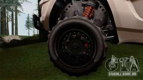 GTA 5 Coil Brawler IVF para GTA San Andreas traseira esquerda vista