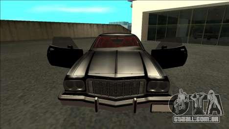 Ford Gran Torino Drift para GTA San Andreas vista interior