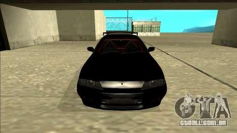 Nissan Skyline R32 Drift para GTA San Andreas vista superior