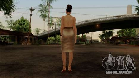 RE5 Excella Gione para GTA San Andreas terceira tela