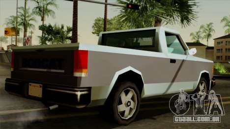 Bobcat from Vice City Stories para GTA San Andreas esquerda vista