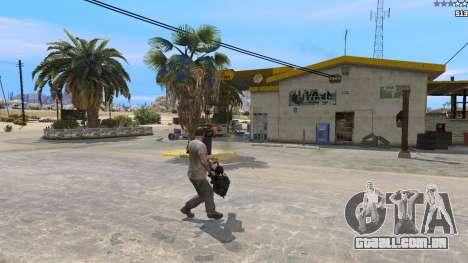 GTA 5 TF2 Heavy Minigun terceiro screenshot