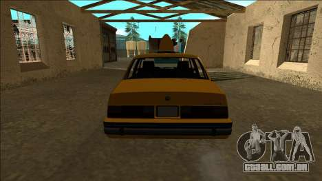 Willard Taxi para GTA San Andreas vista direita
