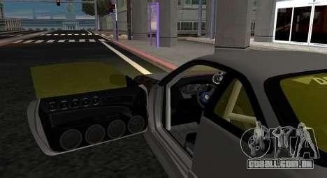 Nissan Silvia S14 JDM v0.1 para GTA San Andreas traseira esquerda vista