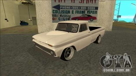 Chevrolet C10 Drift para GTA San Andreas
