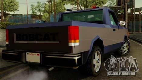 Bobcat from Vice City Stories IVF para GTA San Andreas esquerda vista