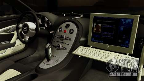 Bugatti Veyron 16.4 2013 Dubai Police para GTA San Andreas vista direita