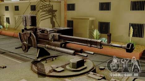 SU-101 122mm from World of Tanks para GTA San Andreas vista traseira