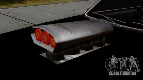 Muscle-Sabre Beta v1 para GTA San Andreas vista direita