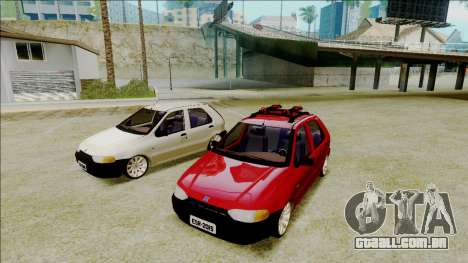 Fiat Palio EDX Turbo Performance para GTA San Andreas