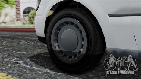 GTA 5 Albany Romero para GTA San Andreas traseira esquerda vista
