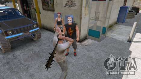 GTA 5 Taco de beisebol de Saints Row Terceiro quinta imagem de tela