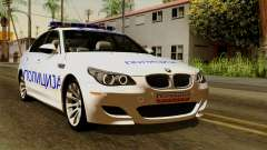 BMW M5 E60 Macedonian Police