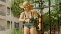 Dead Or Alive 5 Tina Overalls para GTA San Andreas
