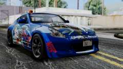 Nissan 370Z Tunable Miku Paintjob