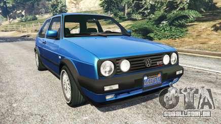Volkswagen Golf Mk2 GTI para GTA 5