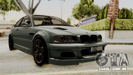 BMW M3 E46 GTR 2005 Stock para GTA San Andreas