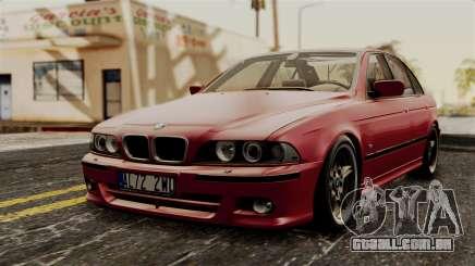 BMW 530D E39 2001 Mtech para GTA San Andreas