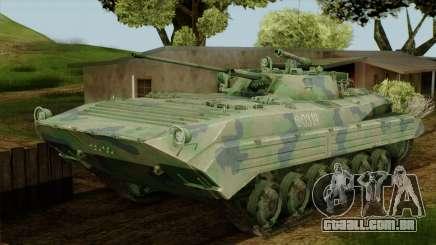 CoD 4 MW 2 BMP-2 Woodland para GTA San Andreas