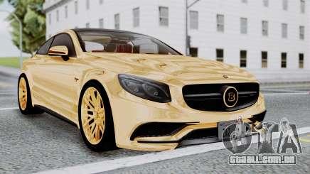Brabus 850 Gold para GTA San Andreas
