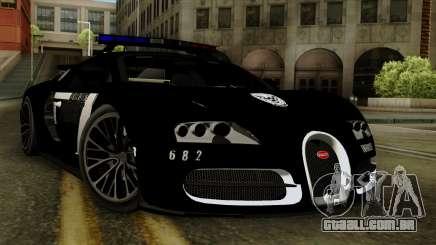 Bugatti Veyron 16.4 2013 Dubai Police para GTA San Andreas