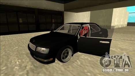 Nissan Cedric Drift para GTA San Andreas vista traseira