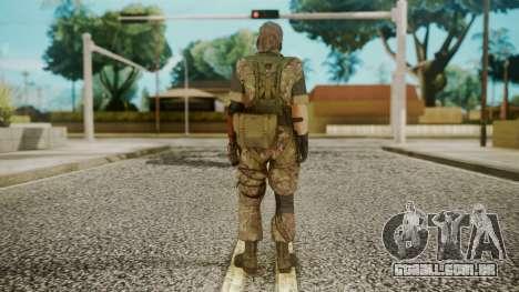 Venom Snake Woodland para GTA San Andreas terceira tela