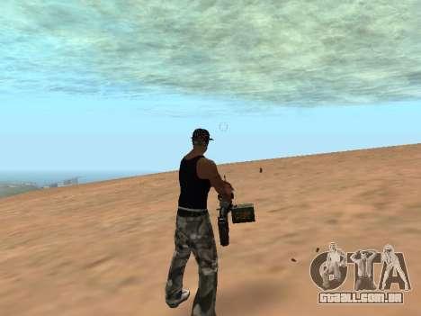 M249 para GTA San Andreas terceira tela