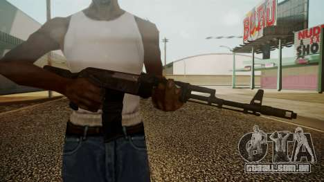 AK-74M Battlefield 3 para GTA San Andreas