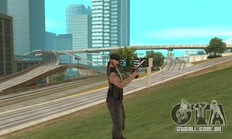 Deagle para GTA San Andreas quinto tela