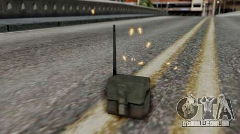 Realistic Effects Particles para GTA San Andreas terceira tela