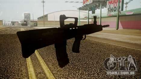 L85A2 Battlefield 3 para GTA San Andreas terceira tela