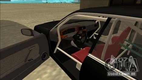 Nissan Cedric Drift para GTA San Andreas vista direita