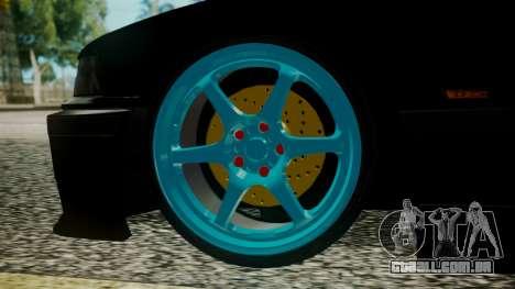 BMW M3 E36 Happy Drift Friends para GTA San Andreas traseira esquerda vista