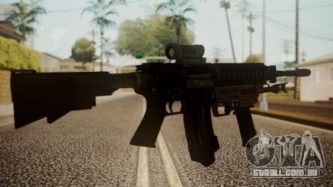 M4 with M26 Mass para GTA San Andreas segunda tela