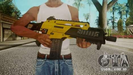 G36C Gold para GTA San Andreas