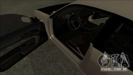 Nissan 200sx Drift JDM para GTA San Andreas vista direita