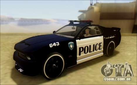 Insípido Dominator Transformadores De Carro De P para GTA San Andreas