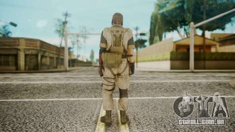 Venom Snake Desert Fox para GTA San Andreas terceira tela