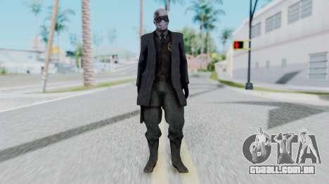 SkullFace Mask para GTA San Andreas segunda tela