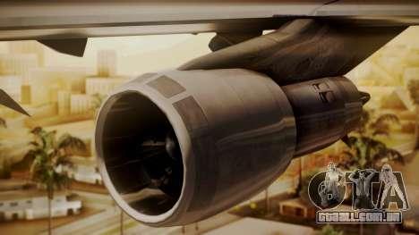Boeing 747-100 Pan Am Clipper Maid of the Seas para GTA San Andreas vista direita