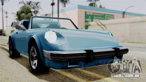 Comet from Vice City Stories para GTA San Andreas vista direita