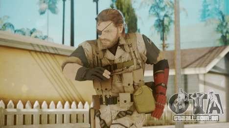 Venom Snake Desert Fox para GTA San Andreas